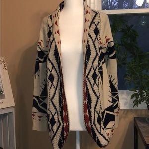 Fate Aztec sweater cardigan